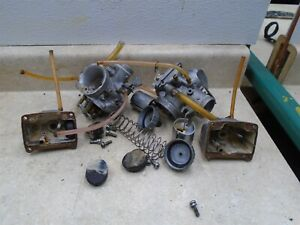 Honda-450-REBEL-CMX450-Carb-Body-INCOMPLETE-PARTS-ONLY-NON-STOCK-1986-HB539