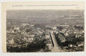 753-Ancienne-Carte-Postale-Bourges-vue-panoramique-du-boulevard-de-Strasbourg