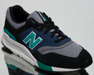 Details about New Balance 997H Mens Black Blue Casual Lifestyle Shoes Low  Sneakers CM997-HZK