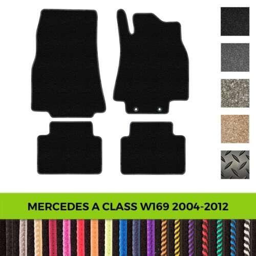 Mercedes A-Class W169 2004-2012 Custom Tailored Fit Car Mats