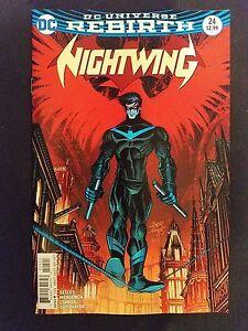 Variant Nightwing # 3 DC Universe Rebirth 1st Print