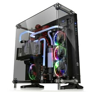Gaming PC Case Computer 5mm Tempered Glass ATX Open Frame...