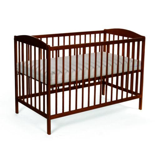 Babybett Kinderbett Gitterbett Massivholz  mit Matratze und Schublade