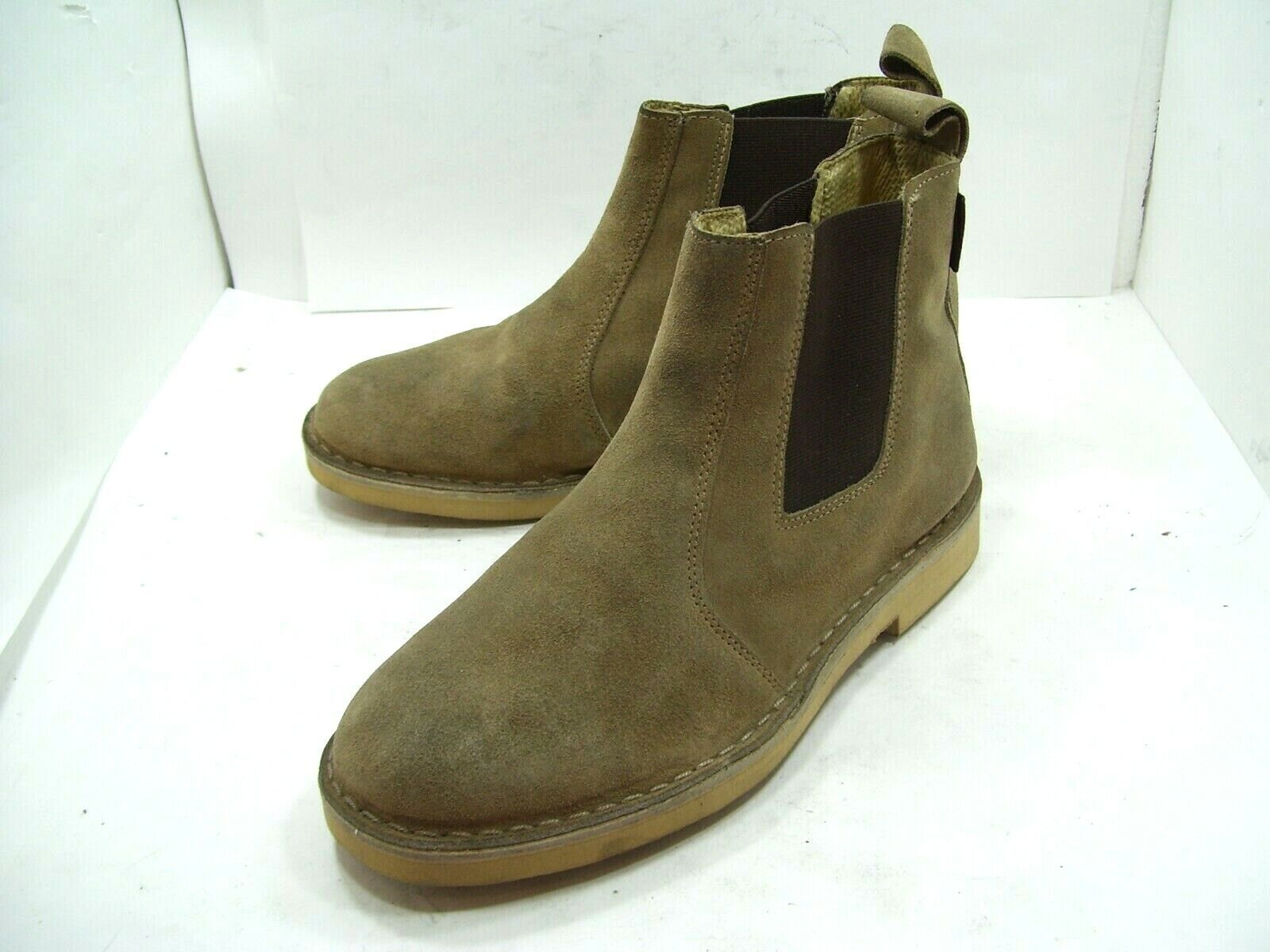 MSPRINT MENS CASUAL marron SUEDE LEATHER DRESS chaussures FORMAL bottes POLAND TAN