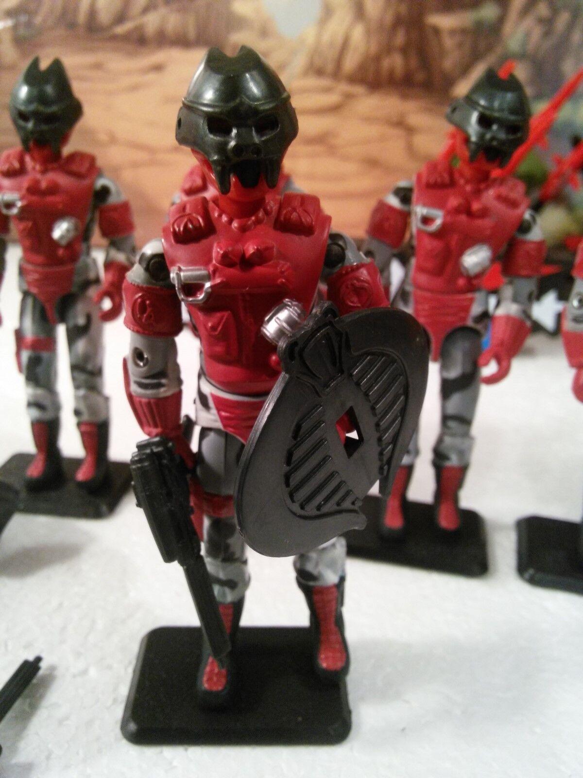 (5) 2002 Cobra Urban Assault Trooper   Red   ALLEY-VIPER(v6) 100% CMP  VHTF