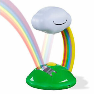 Led Colourful Rainbow Effect Night Light Projector Lamp