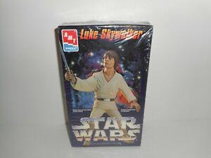 VTG-1995-Star-Wars-Luke-Skywalker-AMT-Ertyl-Vinyl-Model-Collectors-Edition-NIB