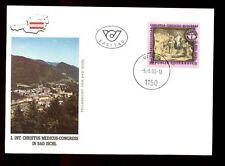 Austria 1990 Christus Medicus Congress FDC #C3027