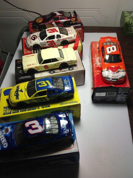 #8 Dale Earnhardt Jr 1/24 NASCAR Diecast Car LOONEY TUNES / display case