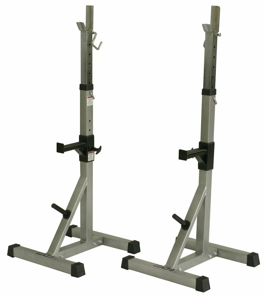 Valor Fitness BD-8 Deluxe Squat Stand with Plate Storage New