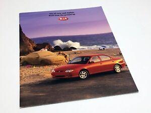 1998 Kia Sephia Sportage Sales Brochure Book