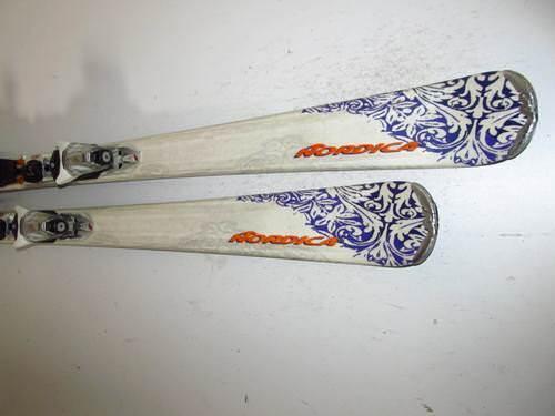 Ski Nordica Fox mit Bindung, 152cm (DD356)