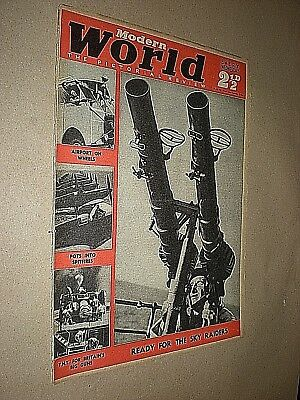 Modern World Pictorial Review Magazine. Vintage Illustrated Mag. Sept 7th 1940 Glanzend