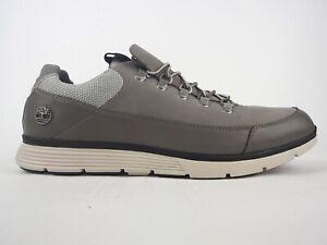 Descuido Sospechar Empeorando  Mens Timberland Killington Hiker OX A1GB7 Grey Leather Lace Up Casual Shoes  | eBay