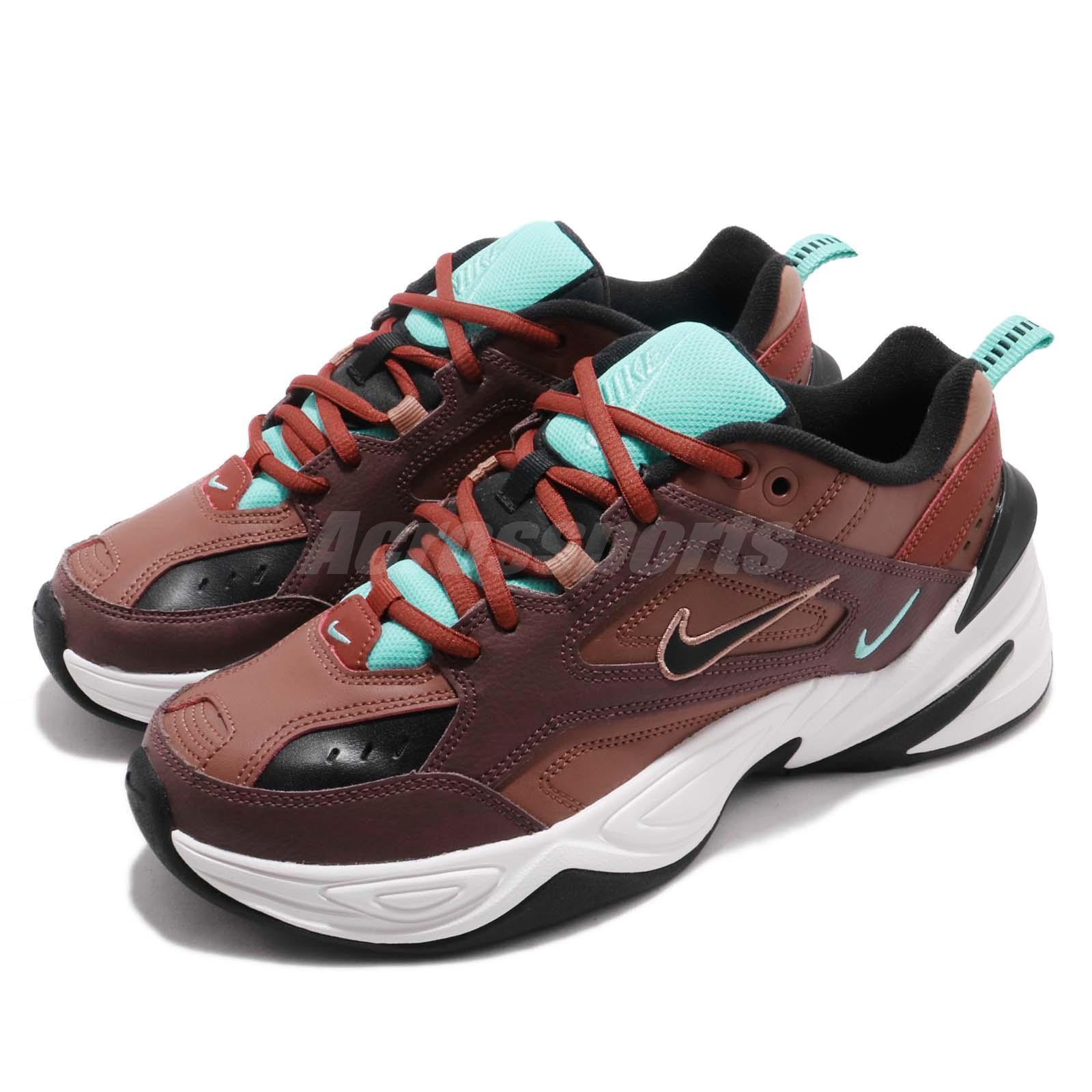Nike Wmns M2K Tekno Mahogany Mink Black Women Daddy shoes Sneakers AO3108-200