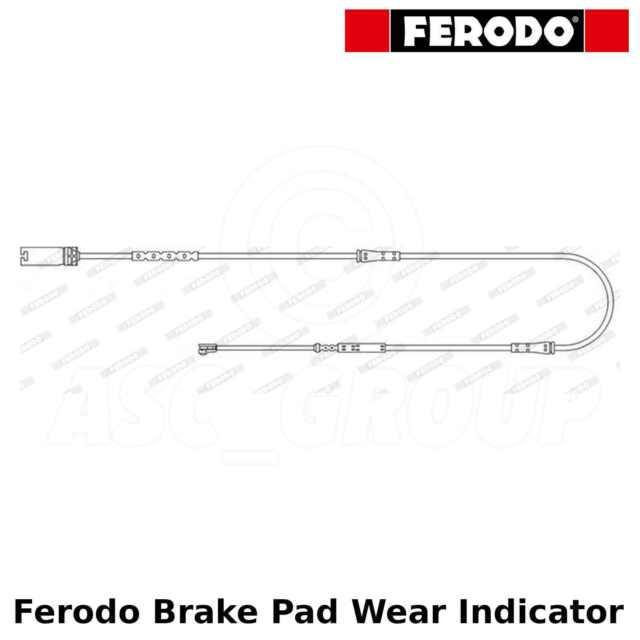 Ferodo Plaquette de Frein Indicateur Usure Câble Capteur - FWI401 - Orig.