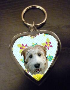 Wheaten-Terrier-Gift-Keyring-Dog-Key-Ring-heart-Wheatens-Mothers-Day-Gift