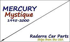 "1995-2000 Mercury Mystique - 32"" Black Stainless AM FM Antenna Mast"