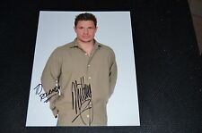 NICK LACHEY signed Autogramm In Person 20x25 cm  98 DEGREES Jessica Simpson