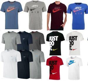 Détails sur Homme Neuf Nike Gris Rétro Gym Sports Tee T Shirt Top Vintage taille S M L XL afficher le titre d'origine