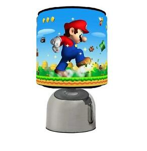 Mario Bros Touch Table Bedside Lamp Kids Room Brand New Ebay