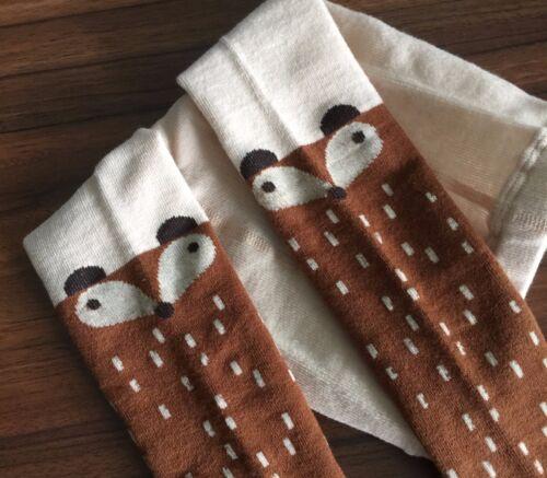 Girl Baby Kids Fox Squirrel Cute Warm Bottoms Tights Leggings Stocking 1-3years