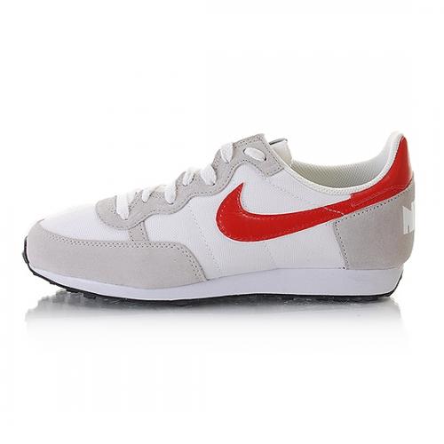 Nike Challenger Neu Gr:42 US:8,5 Schuhe Sneaker Lucky Weiß-Rot Retro Vintage
