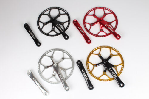 130mm BCD MTB Bicycle Folding BIke road Bike Square Crankset 170mm Crank arm