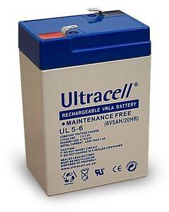 Ultracell-UL5-6-Batterie-au-plomb-etanche-6V-5AH-70x47x106mm-5000mAh