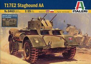 Italeri-6463-Maqueta-de-Tanque-T17E2-Staghound-AA-Escala-1-35