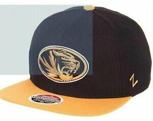 Zephyr NCAA Missouri Tigers Z11 Snapback, Adjustable New Free Shipping Hat/Cap
