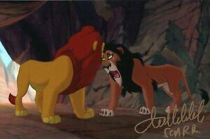 Tullio-Solenghi-Il-Re-Leone-Scar-Signed-Autografo-ITP-Lion-King-Disney-Cinema