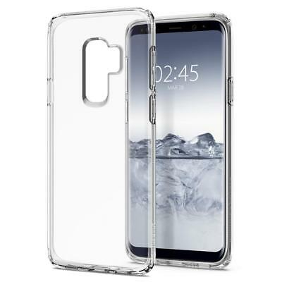Galaxy S9 / S9 Plus Case, Genuine SPIGEN Liquid Crystal Slim Soft Cover Samsung