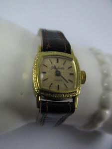 Vintage Glashütte About Damen Armbanduhr Details Handaufzug Uhr Gub Goldplaque 70s MLqzjVGSUp