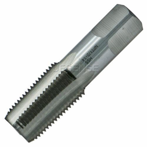1//2-14 NPT Pipe Tap Right Hand Thread High Speed Steel HSS 1//2 RH