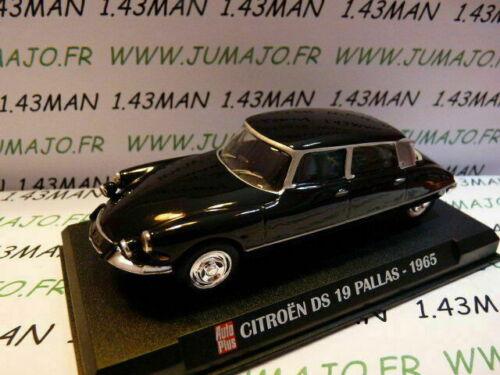 AP60G Voiture 1//43 IXO AUTO PLUS CITROËN DS 19 Pallas 1965