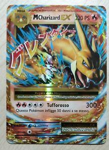 Carta-Pokemon-MEGA-M-CHARIZARD-EX-13-108-XY-EVOLUZIONI-FULL-ART-GX-IN-ITALIANO