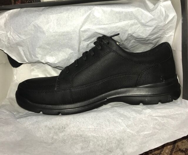 d6016d0b74 Rockport Black Junction Point Lace to Toe XCS H79441 Mens Shoe 10W NEW IN  BOX