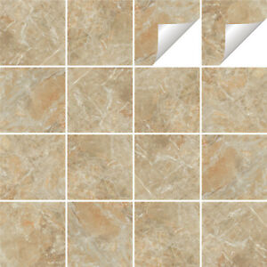 Image Is Loading Tile Stickers Transfers Marble Kitchen Bathroom Various Sizes