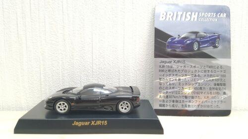 1//64 Kyosho JAGUAR XJR15 XJR-15 BLACK diecast car model
