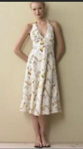 Details about 129. J. Crew Ivory Yellow Lighthouse