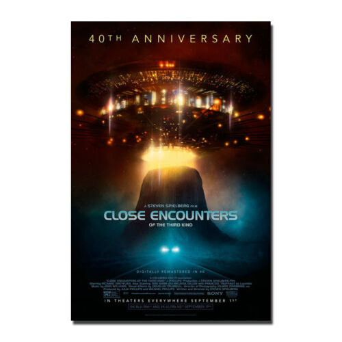 Close Encounters of the Third Kind Poster Silk 40th Anniversary 13x20 32x48 J883