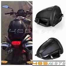 Motorcycle Seat Bag Streetfighter Tail Bags Cruiser Style Leather Luggage Bags