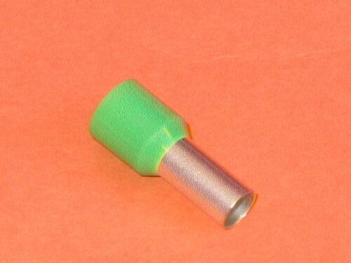 antenne sertissage qty = 10 16mm vert bague de sertissage