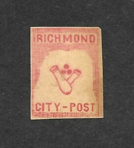 "Confederate States, Richmond ""Duck Pins"" Fantasy, Cinderella"