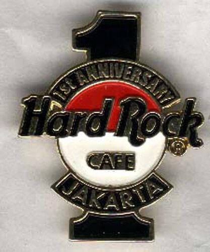 Jakarta Hard Rock Cafe 1st Anniv #1 pin pins