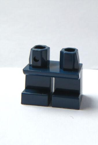 Lego 1 x Legs Leg For Minifigure Figure Short Dark Earth Blue
