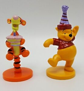 Image Is Loading Winnie Pooh Tigger Birthday Cake Topper Set 2
