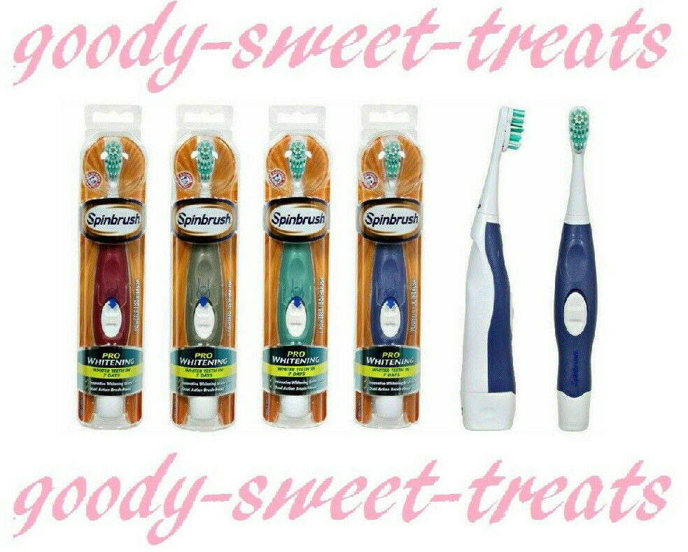 Spinbrush Pro Whitening Battery Powered Toothbrush By Arm & Hammer. 1 Supplied
