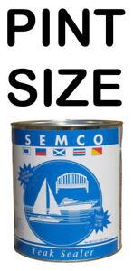 SEMCO-TEAK-SEALER-PINT-TREATMENT-SEALANT-PROTECTOR-AVAILABLE-IN-MANY-COLORS